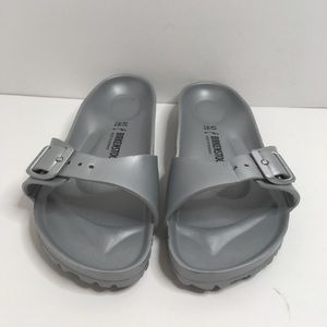 Birkenstock Madrid EVA Metal Silver Size 10
